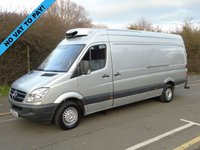 2012 MERCEDES-BENZ SPRINTER 2.1 313 CDI 129 BHP LWB HIGH ROOF FRIDGE/CHILLER VAN £9995.00