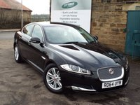 USED 2014 64 JAGUAR XF 2.2 D LUXURY 4d AUTO 163 BHP One Former Owner With Jaguar Service History Including 4 Services