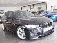 USED 2013 63 BMW 3 SERIES 2.0 320D M SPORT TOURING 5d AUTO 181 BHP M PERFROMANCE STYLING+SAT NAV