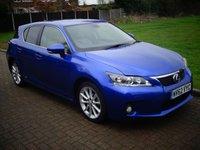 USED 2012 62 LEXUS CT 1.8 200H SE-L 5d AUTO 136 BHP
