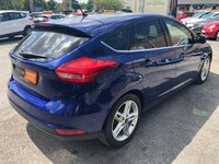 USED 2015 15 FORD FOCUS 1.6 ZETEC TDCI 5d 114 BHP ** FSH + £20 ROAD TAX + UP TO 67 MPG **