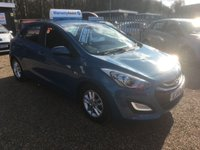 USED 2014 14 HYUNDAI I30 1.4 ACTIVE 5d 98 BHP FULLY AA INSPECTED - FINANCE AVAILABLE