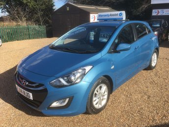2014 HYUNDAI I30 1.4 ACTIVE 5d 98 BHP £SOLD