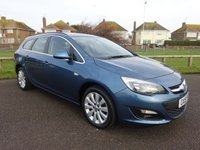 2015 VAUXHALL ASTRA 1.6 TECH LINE ESTATE 113 BHP BLUE 1 OWNER FULL SERVICE HISTORY £8495.00
