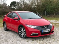 USED 2014 14 HONDA CIVIC 1.6 I-DTEC SE PLUS 5d 118 BHP