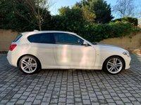 USED 2016 16 BMW 1 SERIES 1.5 118I M SPORT 3d AUTO 134 BHP Low Mileage, Red Leathers, Navi, Xenons, Finance, MOT