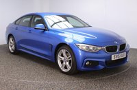USED 2015 15 BMW 4 SERIES GRAN COUPE 2.0 420D XDRIVE M SPORT GRAN COUPE 4DR 181 BHP 1 OWNER FULL SERVICE HISTORY FULL BMW SERVICE HISTORY + HEATED LEATHER SEATS + SATELLITE NAVIGATION PROFESSIONAL + PARKING SENSOR + BLUETOOTH + CRUISE CONTROL + CLIMATE CONTROL + MULTI FUNCTION WHEEL + XENON HEADLIGHTS + DAB RADIO + ELECTRIC WINDOWS + 18 INCH ALLOY WHEELS