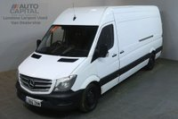 USED 2016 66 MERCEDES-BENZ SPRINTER 2.1 314CDI 140 BHP AIR CON LWB H/ROOF PANEL VAN AIR CONDITIONING