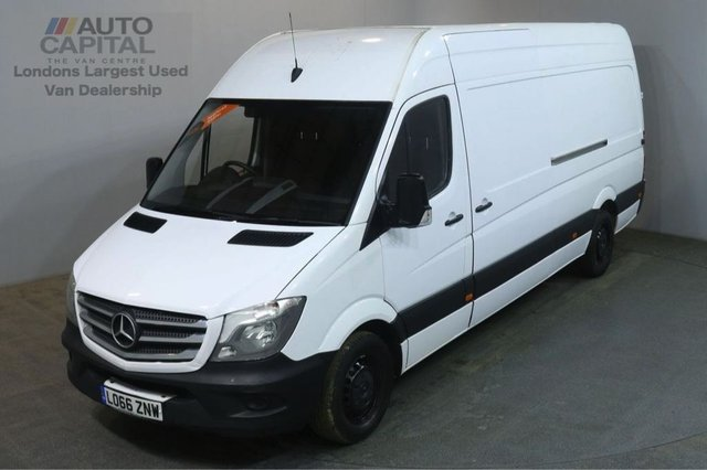 2016 66 MERCEDES-BENZ SPRINTER 2.1 314CDI 140 BHP AIR CON LWB H/ROOF PANEL VAN AIR CONDITIONING