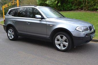 2006 BMW X3 2.0 D SPORT 5d 148 BHP £3795.00