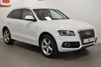 USED 2012 12 AUDI Q5 2.0 TDI QUATTRO S LINE 5d AUTO 170 BHP LOW MILES + FSH + LEATHER + PRIVACY GLASS + 2 OWNERS
