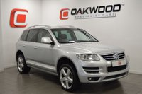 USED 2009 59 VOLKSWAGEN TOUAREG 3.0 V6 ALTITUDE TDI 5d AUTO 240 BHP ONLY 83,000 MILES WITH FSH + 20 INCH ALLOY WHEELS + SAT NAV