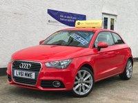 2011 AUDI A1 1.4 TFSI SPORT 3d AUTO 122 BHP £7995.00