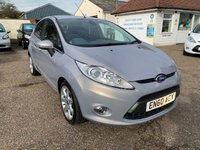 USED 2011 60 FORD FIESTA 1.6 TITANIUM TDCI 5d 94 BHP TOP OF THE RANGE FIESTA TO INCLUDE  KEYLESS SYSTEM / VOICE COMMS / USB / BLUETOOTH / PARKING SENSORS / FULL MAIN DEALER SERVICE HISTORY / CRUISE CONTROL