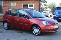 2006 FORD FIESTA 1.6 STYLE CLIMATE 16V 5d AUTO 100 BHP £3795.00