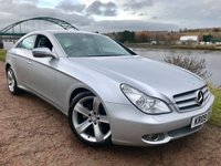 USED 2009 09 MERCEDES-BENZ CLS CLASS 3.0 CLS320 CDI 4d AUTO 222 BHP **FULL BLACK LEATHER**