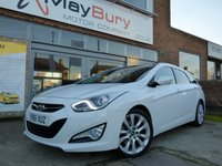 USED 2011 61 HYUNDAI I40 1.7 CRDI PREMIUM 5d AUTO 138 BHP FULLY LOADED DIESEL ESTATE AUTOMATIC