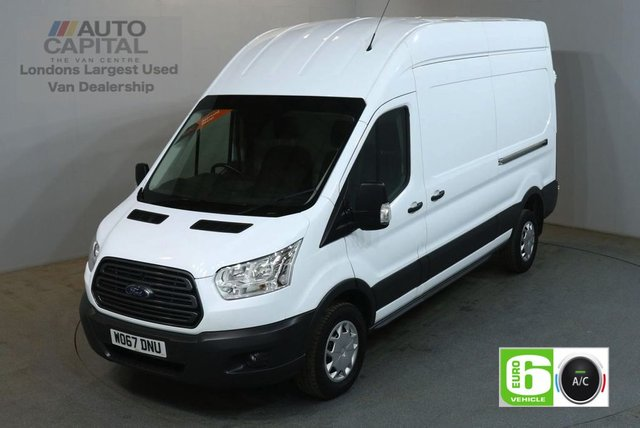 2018 67 FORD TRANSIT 2.0 350 L3 H3 130 BHP LWB H/ROOF TREND AIR CON EURO 6 VAN AIR CONDITIONING EURO 6