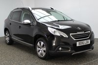 USED 2016 16 PEUGEOT 2008 1.2 S/S ALLURE 5DR AUTO 82 BHP 1 OWNER FULL SERVICE HISTORY £20 ROAD TAX FULL SERVICE HISTORY + £20 12 MONTHS ROAD TAX + HALF LEATHER SEATS + PARKING SENSOR + CRUISE CONTROL + CLIMATE CONTROL + MULTI FUNCTION WHEEL + DAB RADIO + ELECTRIC WINDOWS + 16 INCH ALLOY WHEELS