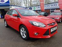 USED 2013 13 FORD FOCUS 1.6 ZETEC TDCI 5d 113 BHP 0%  FINANCE AVAILABLE ON THIS CAR PLEASE CALL 01204 393 181