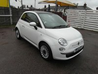 USED 2013 13 FIAT 500 1.2 Dualogic Auto LOUNGE Automatic Petrol