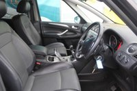 USED 2009 59 FORD S-MAX 2.0 ZETEC TDCI 5d 143 BHP DIESEL 7 SEATS BLACK GOOD SERVICE HISTORY