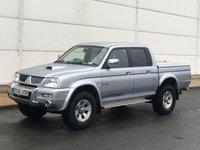 2006 MITSUBISHI L200 2.5 TD 4WD LWB WARRIOR DCB 1d 114 BHP £SOLD