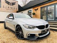 2016 BMW 4 SERIES 2.0 420D XDRIVE M SPORT GRAN COUPE 4d AUTO 188 BHP £22490.00