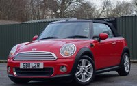 2011 MINI CONVERTIBLE 1.6 ONE 2d [HeatedSeats] £6450.00