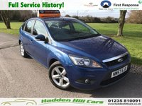USED 2008 57 FORD FOCUS 1.6 ZETEC 5d 100 BHP Full Service History !