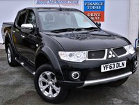 USED 2013 63 MITSUBISHI L200 2.5 DI-D 4X4 BARBARIAN 5 Seat Double Cab Pickup 4x4 AUTO 1 FORMER KEEPER