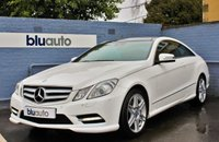 2013 MERCEDES-BENZ E 250 2.1 CDI BLUE EFFICIENCY SPORT COUPE AUTO 204 BHP £14480.00