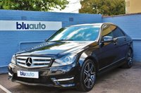 2013 MERCEDES-BENZ C 250 2.1 CDI BLUE EFFICIENCY AMG SPORT PLUS 4d AUTO 202 BHP £14420.00