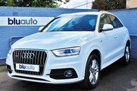 2014 AUDI Q3 2.0 TDI QUATTRO S LINE 5d AUTO 175 BHP £18920.00