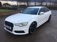 2013 AUDI A6 2.0 TDI S LINE BLACK EDITION 4d 175 BHP £12995.00