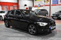 2014 BMW 1 SERIES 2.0 116D SPORT 5d 114 BHP £8495.00