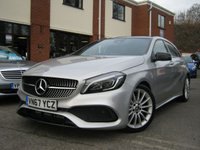 USED 2017 67 MERCEDES-BENZ A CLASS 1.6 A 200 AMG LINE PREMIUM PLUS 5d AUTO 154 BHP