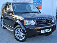 USED 2013 13 LAND ROVER DISCOVERY 4 3.0 SDV6 4x4 AUTO COMMERCIAL with Heated Leather Seats DAB Digital Radio and a Fantastic Rear Leather Seat Conversion too giving 5 Seats in total ONE FORMER KEEPER