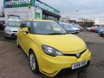 2016 MG 3 1.5 3 FORM SPORT VTI-TECH 5d 106 BHP £7000.00