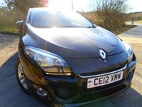 USED 2012 12 RENAULT MEGANE 1.5 DYNAMIQUE TOMTOM DCI 3d 110 BHP **SIX SPEED ,DIESEL ECONOMY , £20 ROAD TAX , LOVELY EXAMPLE  **