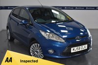 USED 2008 58 FORD FIESTA 1.4 TITANIUM 5d 100 BHP (BLUETOOTH PHONE CONNECTIVITY)