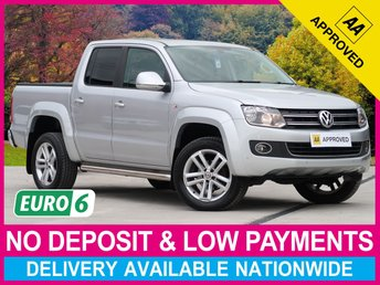 2017 VOLKSWAGEN AMAROK 2.0 BiTDI HIGHLINE AUTOMATIC 4MOTION DOUBLE CAB £17450.00