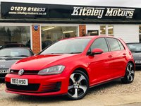USED 2013 13 VOLKSWAGEN GOLF 2.0 GTI LAUNCH 5d 220 BHP ADAPTIVE CHASSIS & NAVIGATION