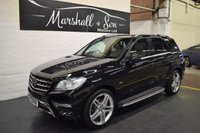 2012 MERCEDES-BENZ M CLASS 3.0 ML350 BLUETEC SPORT 5d AUTO 258 BHP £18299.00