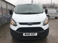 USED 2016 16 FORD TRANSIT CUSTOM 290 100PS L1H1 SWB **VERY LOW MILES**