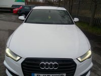 USED 2015 15 AUDI A6 2.0 TDI ULTRA S LINE BLACK EDITION 4d AUTO 188 BHP