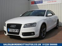 USED 2009 59 AUDI A5 2.0 tdi s line black edition 170 FULL SERVICE HISTORY
