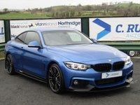 2017 BMW 4 SERIES 2.0 420D M SPORT 2d AUTO 188 BHP £20750.00