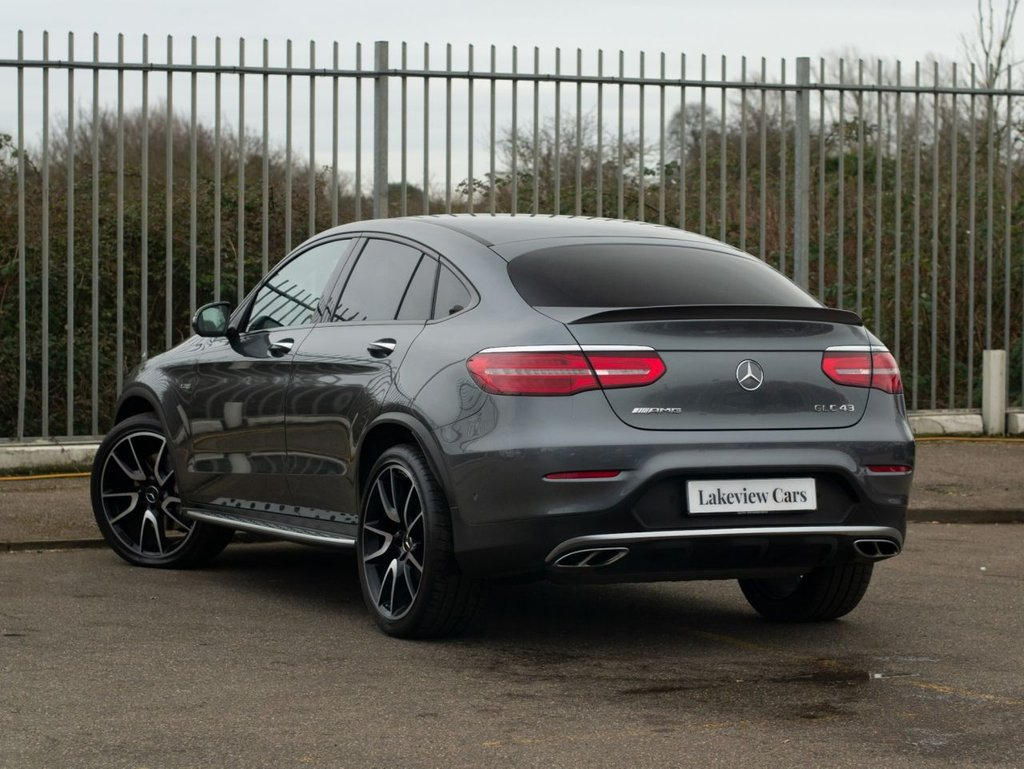 USED 2018 18 MERCEDES-BENZ GLC-CLASS 3.0 AMG GLC 43 4MATIC PREMIUM PLUS 4d AUTO 362 BHP