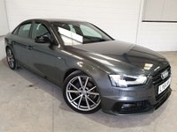 USED 2015 64 AUDI A4 2.0 TDI S LINE BLACK EDITION PLUS 4d AUTO 174 BHP